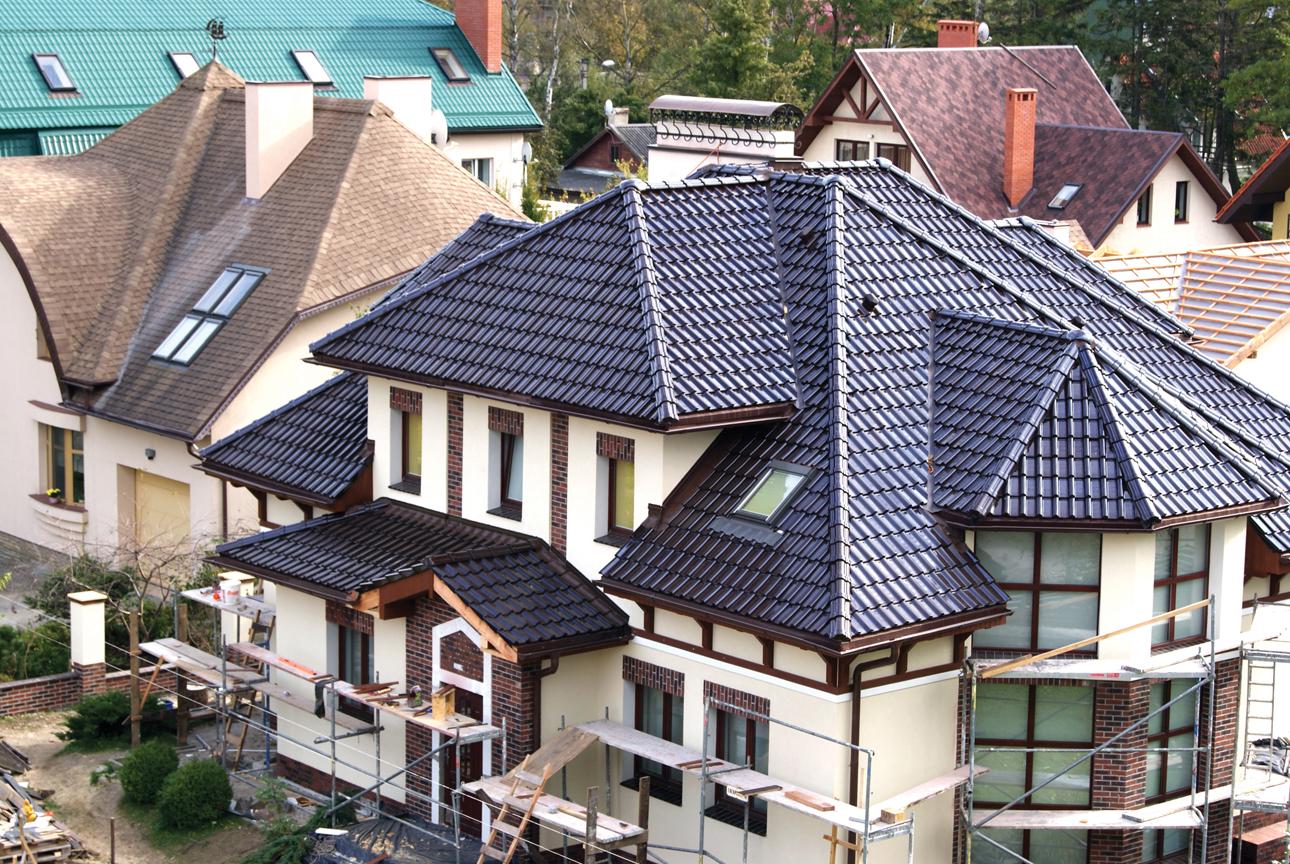 виды крыш для частных домов фото